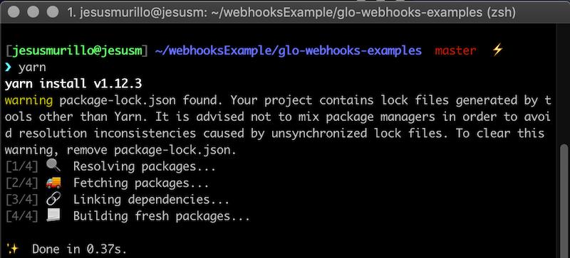 Configuring a Sample Webhook & Server