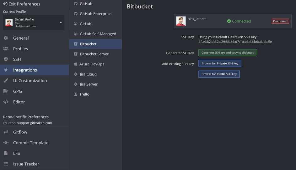Git Clone Ssh Bitbucket